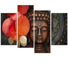 20 ideas of buddha wooden wall art wall art ideas aliexpress buy visual art decor large buddha painting prints for buddha wooden wall art