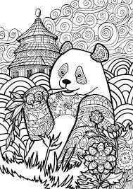 printable panda coloring sheets panda coloring pages good