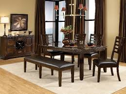 stunning dining room table and bench gallery home design ideas