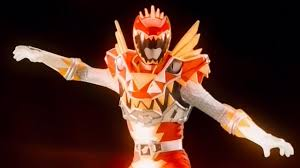 power rangers dino super charge rex super charge red ranger