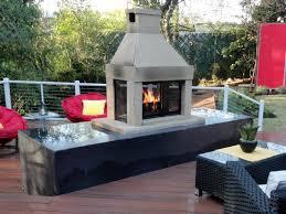 Hampton Bay Outdoor Fireplace - propane fireplace binhminh decoration