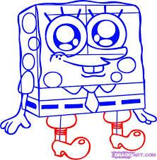 how to draw spongebob squarepants step by step i like this
