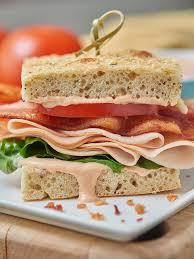 bacon turkey thanksgiving turkey bacon bravo sandwich panera copycat recipe