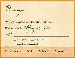 wedding invitations rsvp wording wedding invitation rsvp wording sles paperinvite