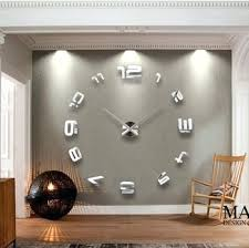 Giant Wall Clock Wall Clock Large Wall Clock Design Large Black Wall Clock Ikea