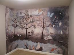 Wall Mural Wallpaper Nature Forest Tree Light Show Photo Aubree S Enchanted Forest Nursery Project Nursery