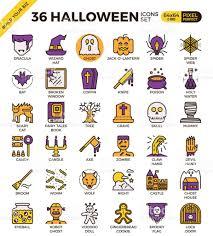 Halloween Icon Spooky Halloween Icon Stock Vector Art 652294436 Istock