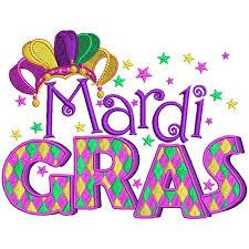 mardi gras banner gras banner jester hat filled machine embroidery design digitized
