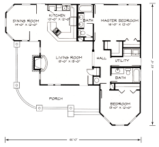farmhouse style house plan 2 beds 00 baths 1270 sq ft throughout
