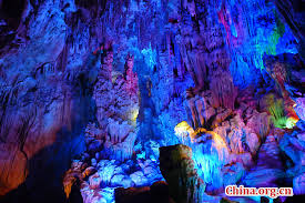 reed flute cave scenery of reed flute cave in guilin china org cn
