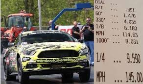 2015 mustang gt quarter mile supercharged 2015 mustang gt sets quarter mile record with