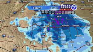 New Mexico Weather Map by Forecast Some Areas Of Nm May See A Foot Of Snow