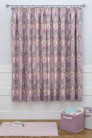 Pink Pleated Curtains Buy Nancy Floral Black Out Pencil Pleat Curtains From Next Usa