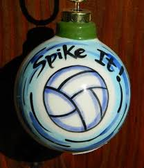 14 best volleyball ornaments images on pinterest volleyball