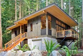 modern prefab tiny home modern prefab cabin series tiny hobbitat