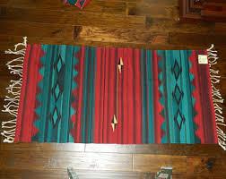 Zapotec Rug Paintings Vintage Wool Rug Birds On Rug Zapotec Indian Wool Rug Made