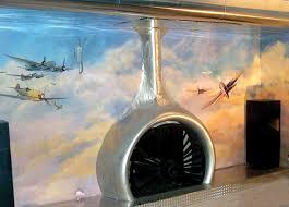 aviation decor home monster u201caviation u201d house is a dream come true for aviation