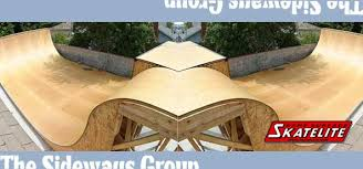 Sideways Group Skateboard Ramps Ramp Plans Skatepark Design - Backyard skatepark designs