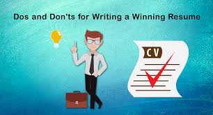Dos And Donts Of Resume Kyyba Kontent