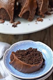 triple chocolate zucchini bundt cake mountain mama cooks