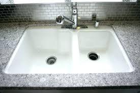 kohler cast iron kitchen sink kohler cast iron sink cleaner k 4 0 single bowl cast iron kitchen