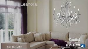 the leanora collection from kichler lighting youtube