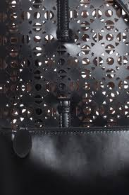 alaïa etoile star cut out bag in black lyst