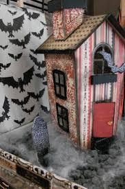 357 best halloween putz houses images on pinterest halloween