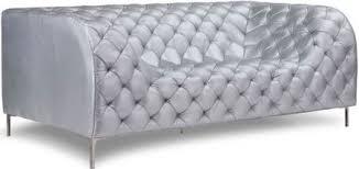 zuo modern providence sofa zuo modern 900278 providence sofa silver like a grand piece of art