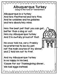 poem activities turkeys thanksgiving feast pilgrims and indians