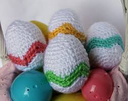 Easter Decorations To Crochet crochet easter etsy