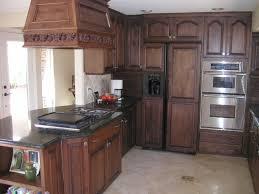 Alderwood Kitchen Cabinets by Alder Wood Cherry Madison Door Dark Oak Kitchen Cabinets