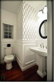 bathroom stencil ideas 318 best powder room images on pinterest bathroom bathroom ideas