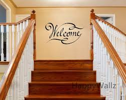aliexpress com buy welcome home family quote wall stickers