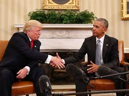 Trump In The Oval Office President Obama Calls Conversation With Donald Trump U0027excellent