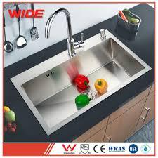 Kitchen Corner Sinks Stainless Steel by Handmade Stainless Steel Kitchen Corner Sink Strainer For