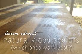 wood sealer which is the best sustainable baby steps