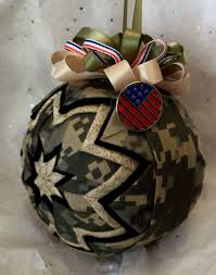 prairie creations ornaments u2013 military style army ornaments
