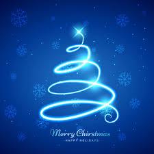 spiral christmas tree shiny spiral christmas tree background vector free