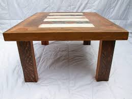 Rustic Wood And Metal Coffee Table Table Round Rustic Coffee Table With Storage Modern Tables Image
