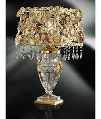 clear crystal tiepolo table lamp incredible delights pinterest