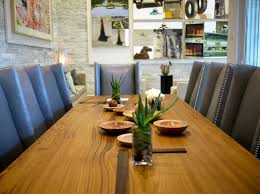 modern rustic wood furniture contemporary dining room by means of