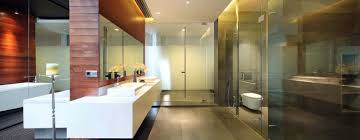 luxurious diminished house master bathroom interior enlarged