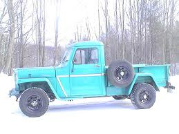 early 50 u0027s willys jeep truck pics request the h a m b willys