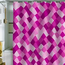bianca green pink shower curtain proceeds go to breast cancer