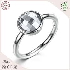 flat engagement rings aliexpress buy popular simple design delicate 925