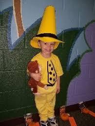 Curious George Halloween Costume Toddler Yellow Hat Tutorial Halloween Ideas