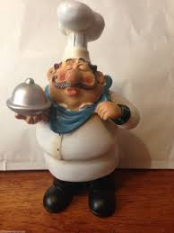 novelty new fat chef le french bistro silver plater kitchen
