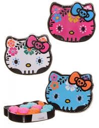 Halloween Kitty by Hello Kitty Sugar Skulls Candy Tin Assorted Color Halloween