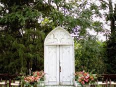 How To Decorate A Wedding Arch 32 Diy Wedding Arbors Altars U0026 Aisles Diy
